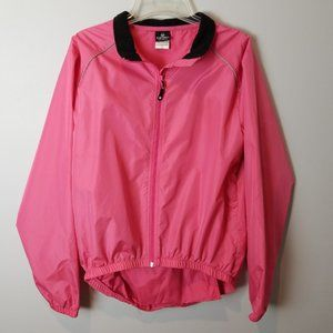 CANARI tour convertible cycling jacket Pink XL